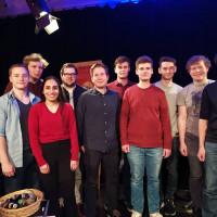 Die Juso Kandidatinnen und Kandidaten 2020 mit Kevin Kühnert